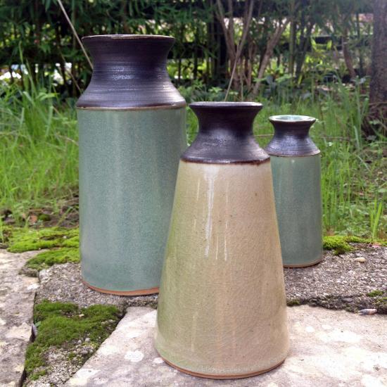Trio vases